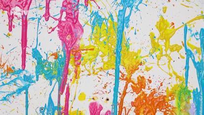 276 - DIY Splatter Painting - DEUTSCH