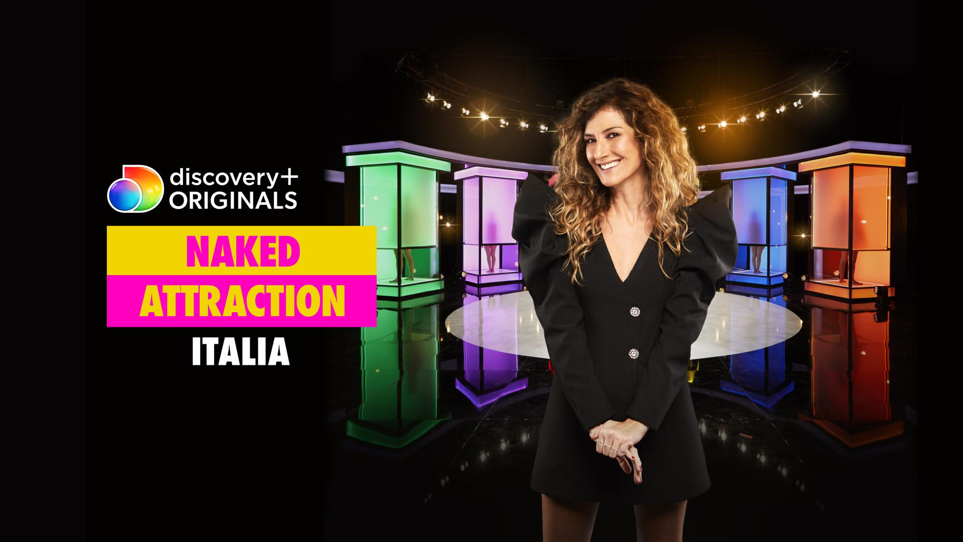 Naked Attraction Italia, su Discovery+ il dating show