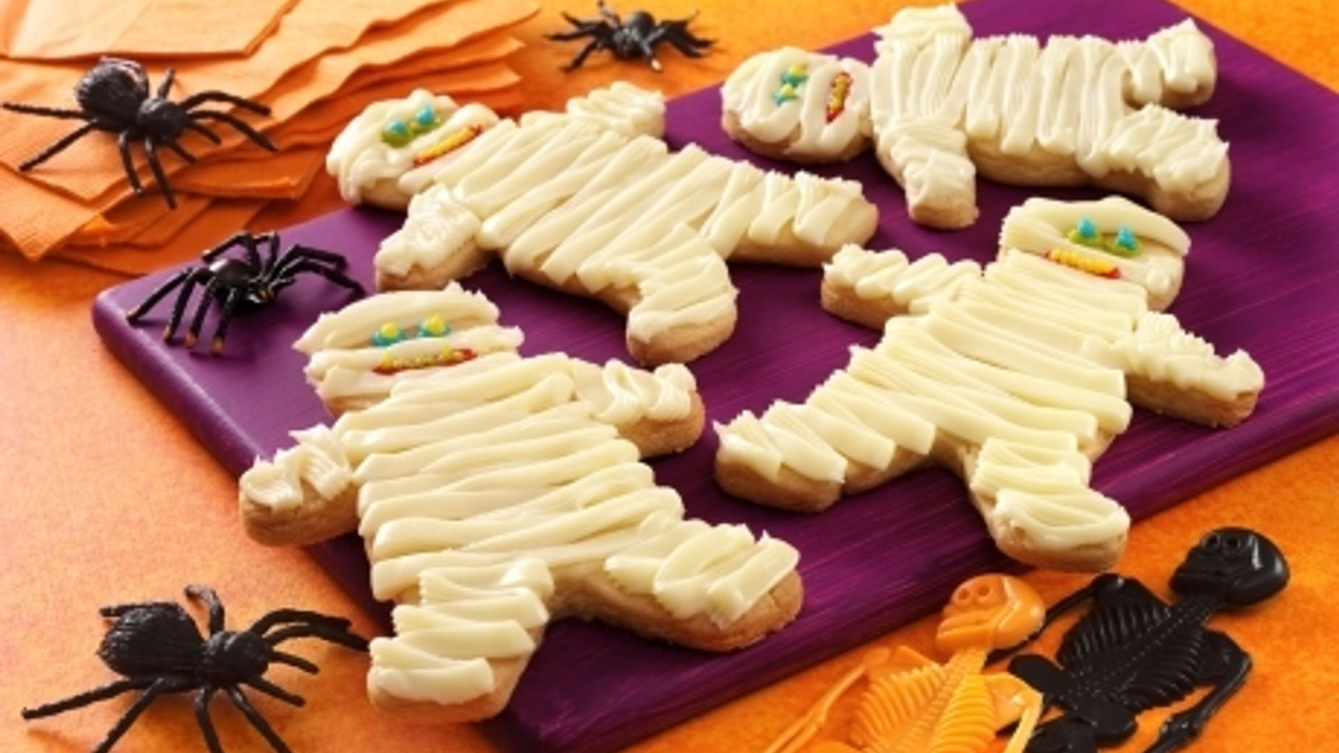 Scary Mummy Cookies
